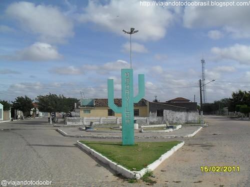 Maravilha - Praça na entrada da cidade