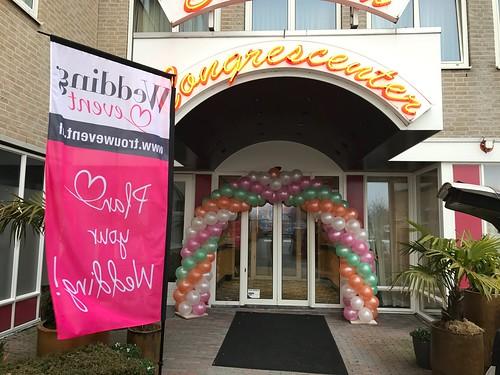 Ballonboog 6m Carlton Oasis Hotel Spijkenisse