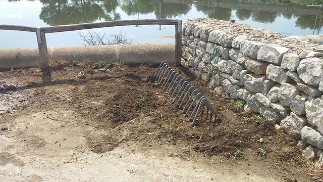 Conversano- cittadini ripuliscono il lago di Sassano 7