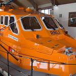 The new Mumbles Lifeboat RNLB Roy Barker IV