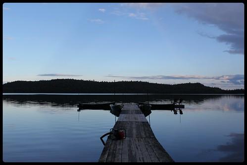 Réserve Faunique Mastigouche - Lac au sable - le quai