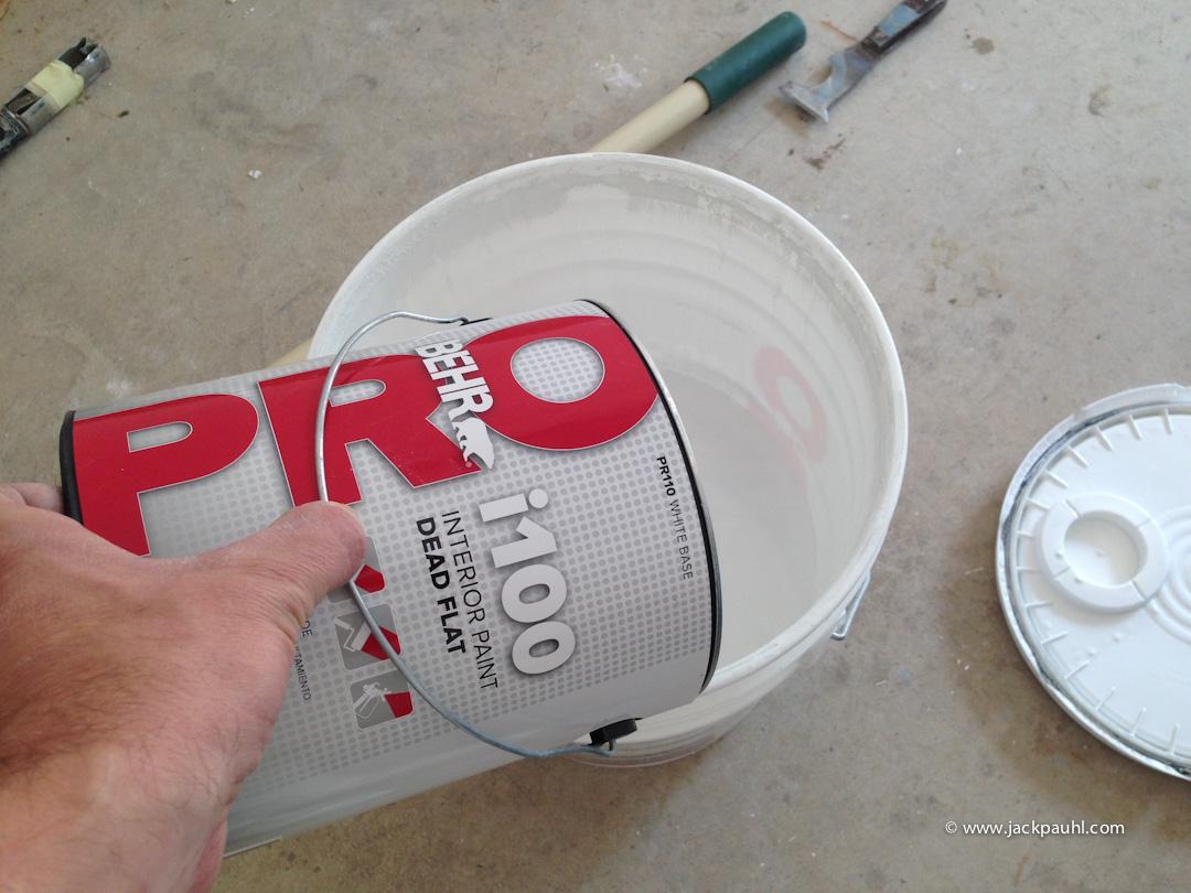 Behr Pro I100 Dead Flat Jack Pauhl Maximum Painting