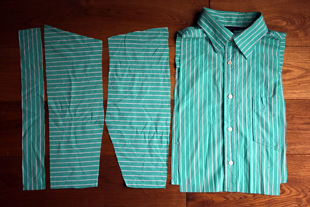 Shirt Refashion - Before