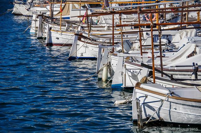 Llaguts al Port d'Andratx