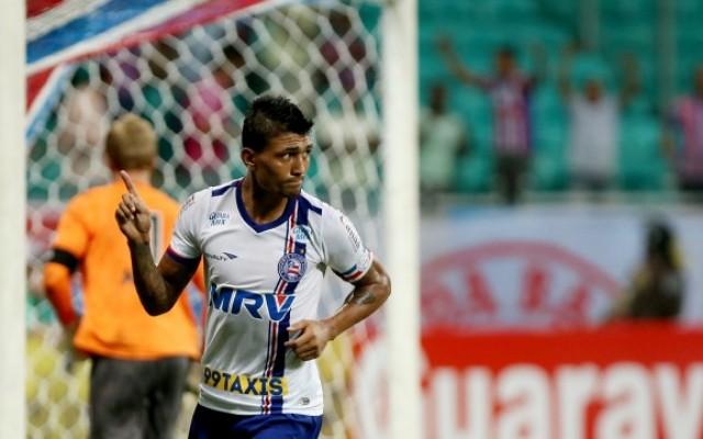 Em jogo movimentado, Bahia vence o Bragantino por 3 a 2 e se mant�m no G-4