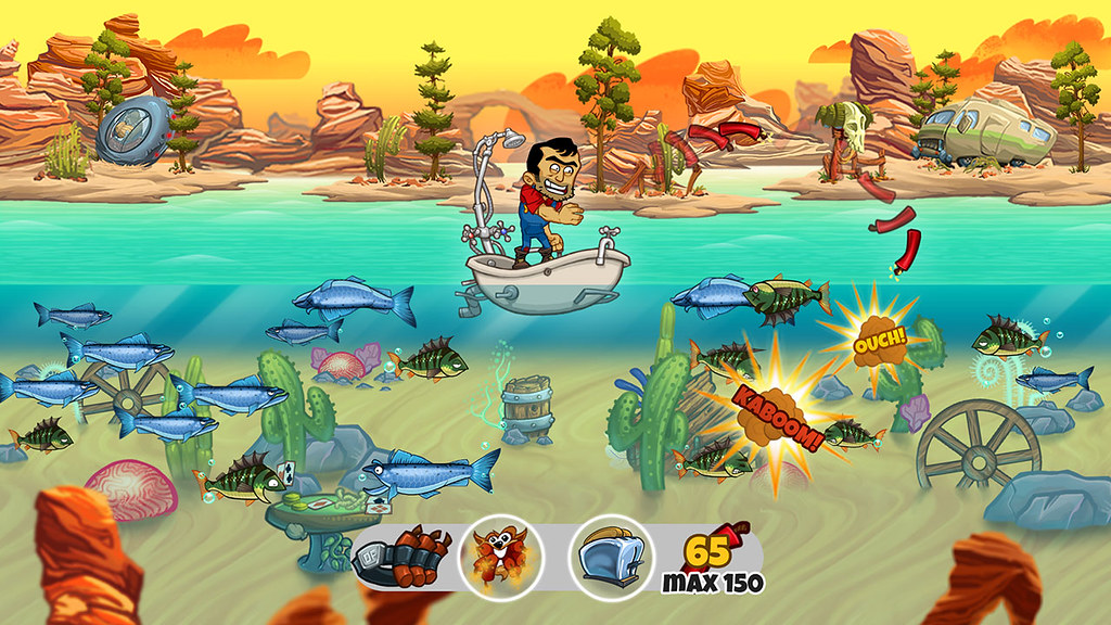 Dynamite fishing world games explodes onto ps4 on 26th for Fish world games
