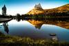 Reflection of the Cathedral Peak by Pichaya V. (Zolashine)