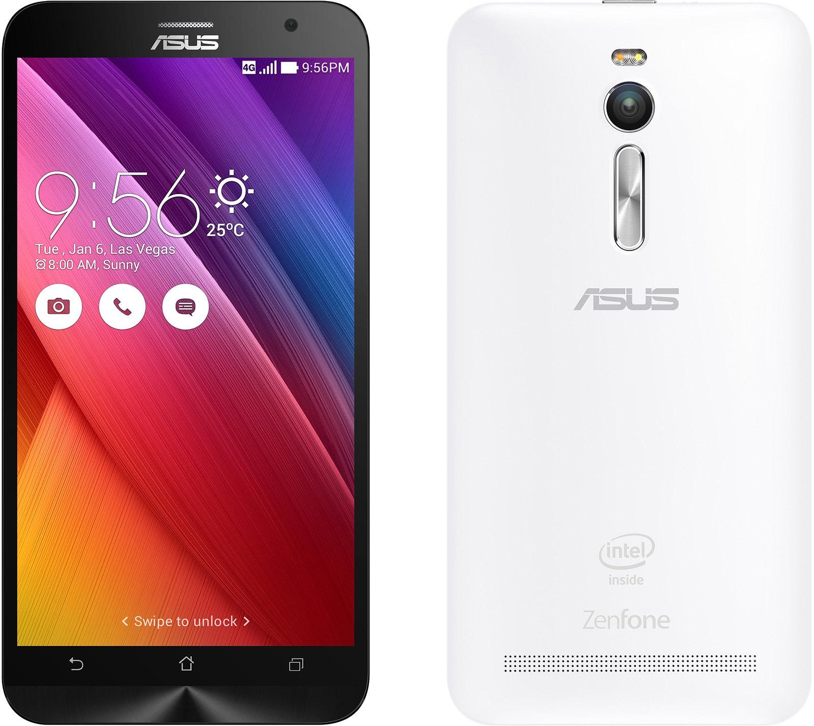 ZenFone 2 Laser ZE500KL 実物大の製品画像