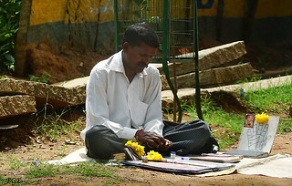 Street Palm Reader -  Bangalore India