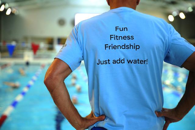 Swim Social Launch with Scottish Water