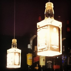 Bottle lamps.