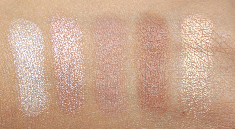 L'oréal rosé la palette nude swatch1