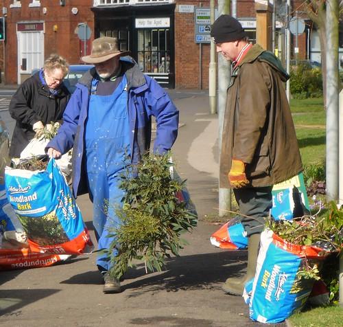Oakham in Bloom Volunteers and Flowers
