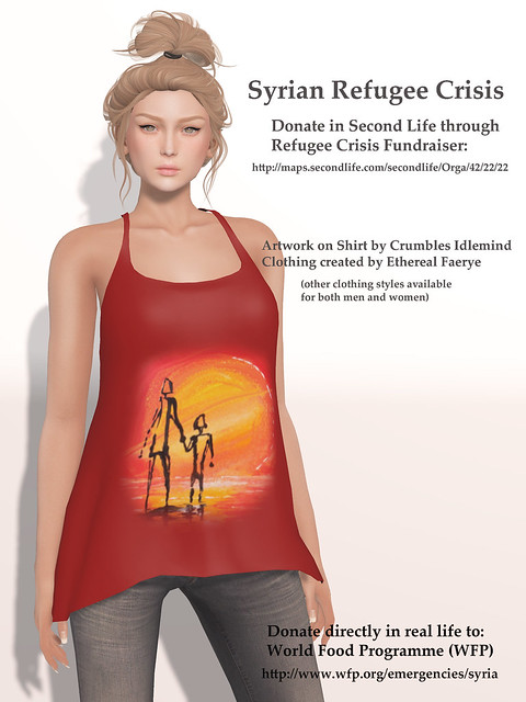 Syrian Refugee Crisis Fundraiser in Second Life