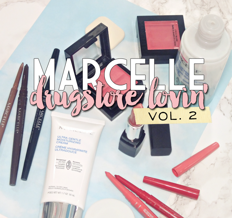 marcelle drugstore lovin vol. 2