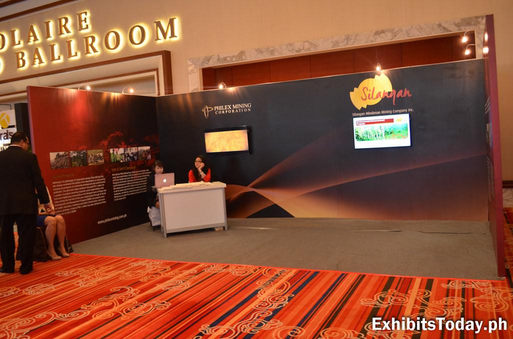 Philex mining Corpporation Exhibit Booth