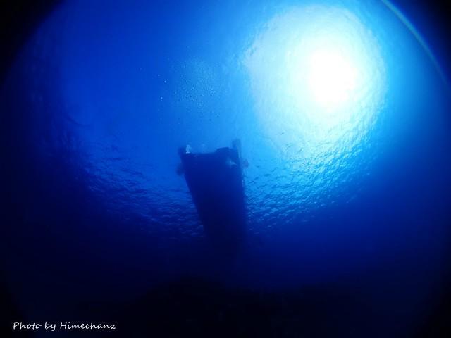 朝一は黒島ブルーが気持ちよかったです♪