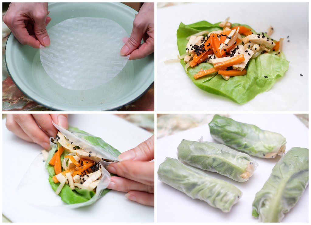 Healthy Lifestyle Festival SG: Vegetable Roll Recipe Preparation