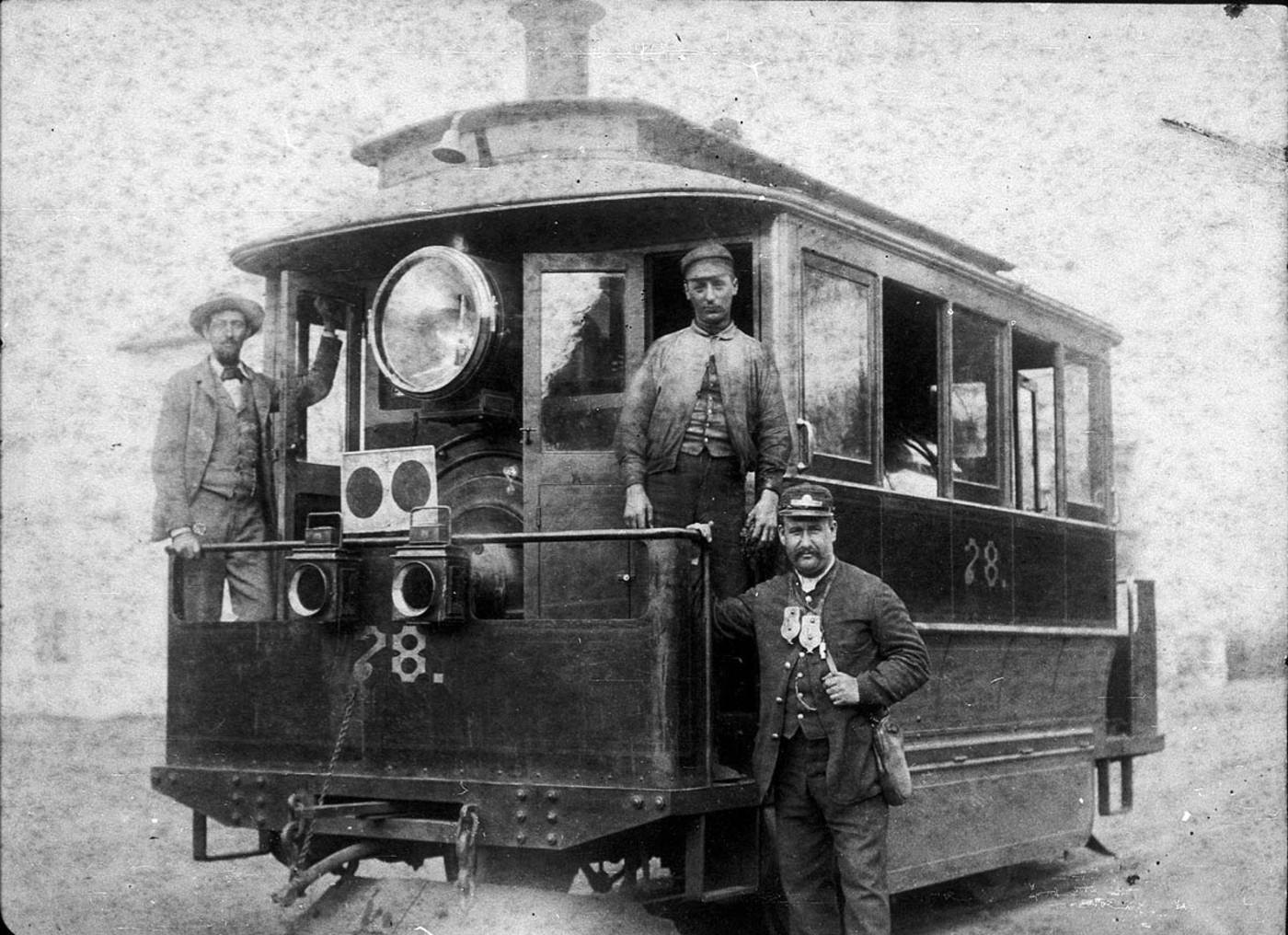 Baldwin steam tram 78