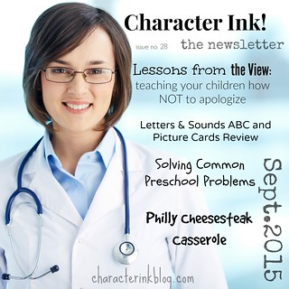 Character Ink Newsletter No. 28