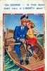 Vintage comic postcard