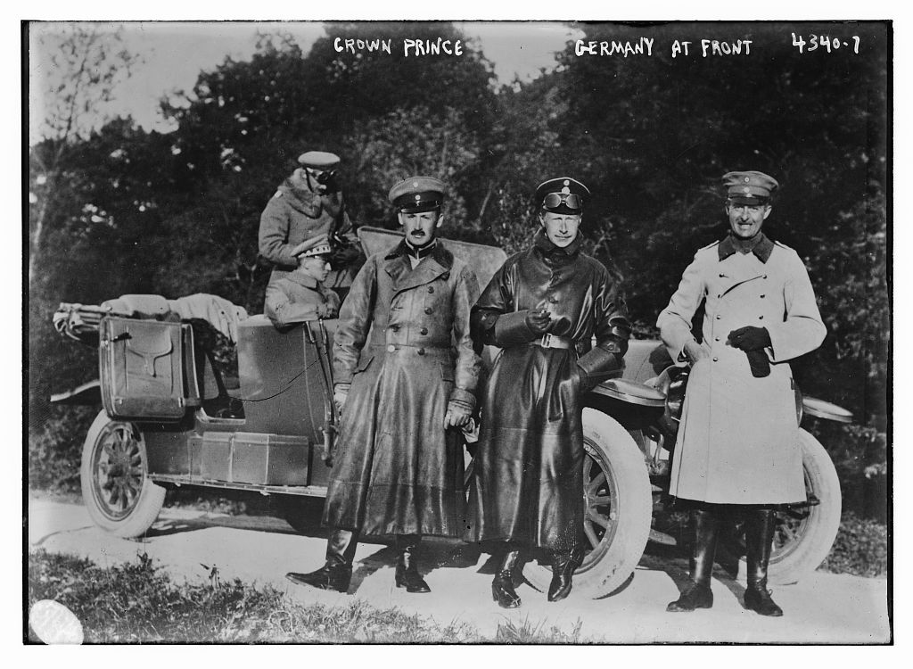 Crown Prince Germany at front (LOC)
