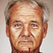 billmurray smudge retrato by Sergio J. Dominguez Leal