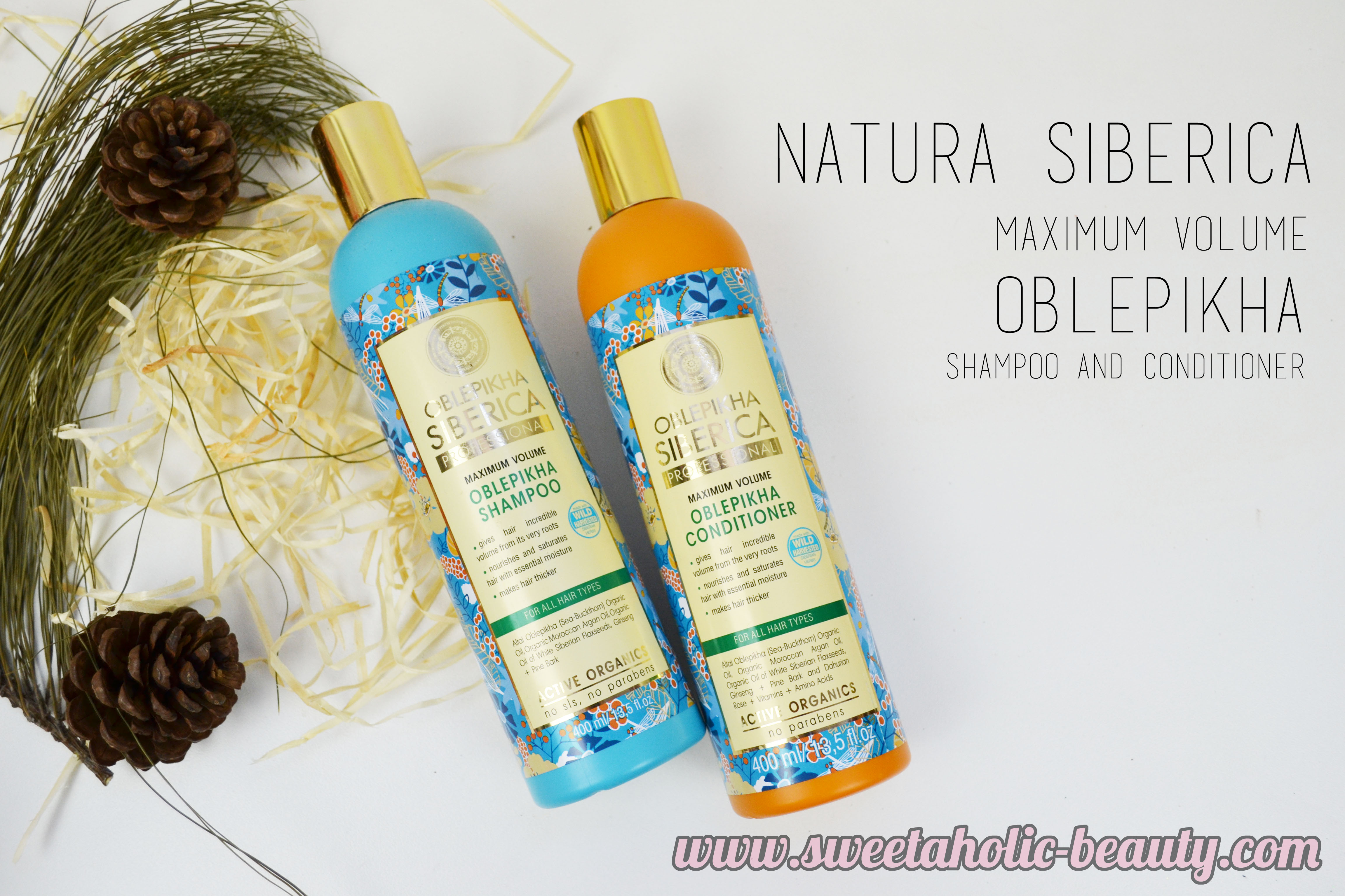 Natura Siberica Maximum Volume Oblepikha Shampoo & Conditioner Review