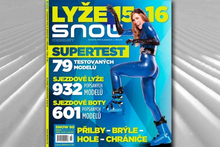 SNOW 90 market - lyže 2015/16 + Supertest