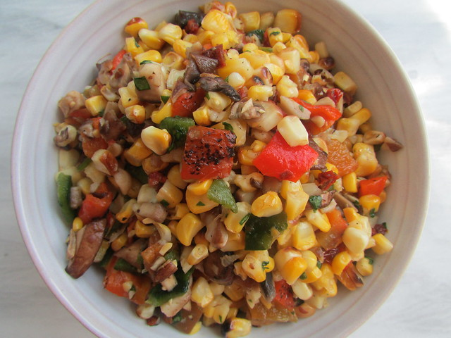 roasted corn salsa on twothirtyate.com