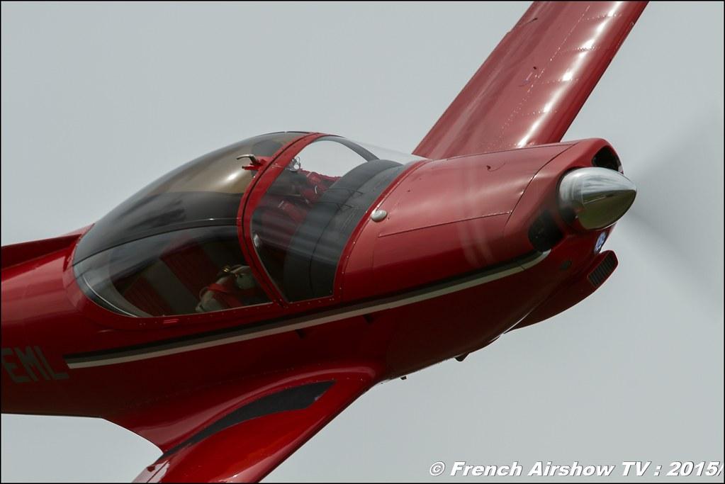 SIAI Marchetti F-260 HB-EML Fly-In CASG Prangins 2015 aerodrome de la Côte LSGP Canon Sigma France contemporary lens Meeting Aerien 2015