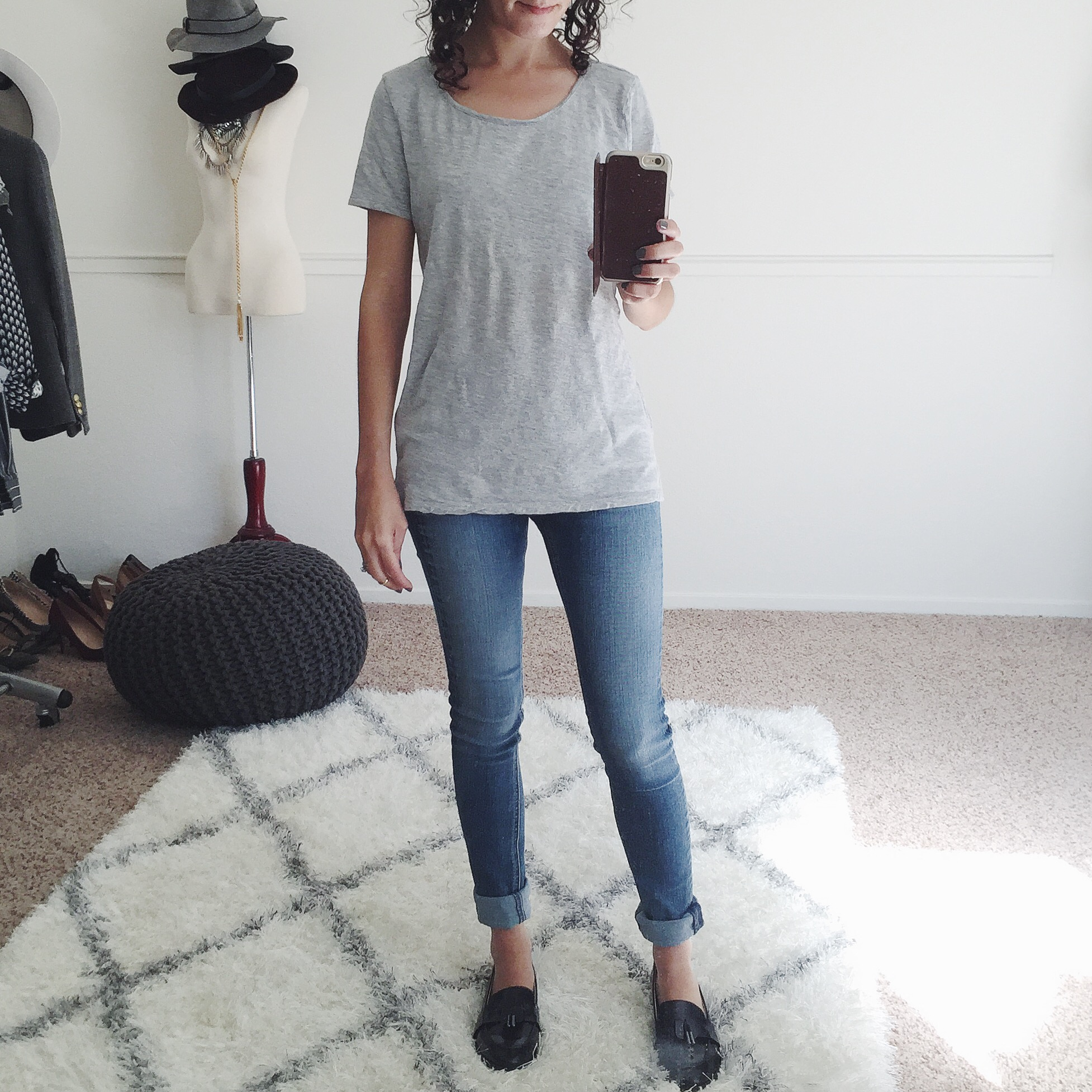 gap cotton modal tee shirt review
