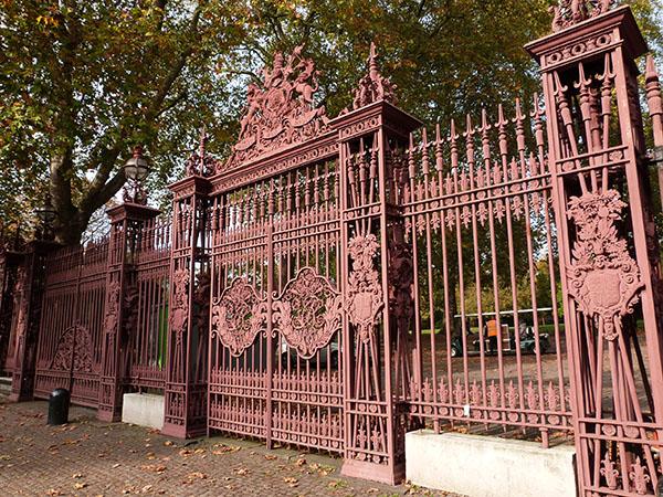 grille Kensington park