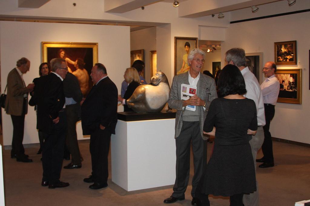Cavalier Gallery Opening Atmosphere 1