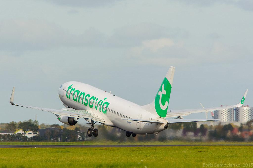 PH-HZI | Boeing 737-8K2 | Transavia | AMS