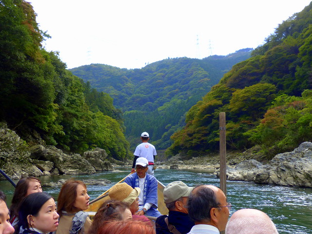Hozu-gawa River cruise