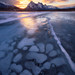 Icy Footprint by Willie Huang Photo