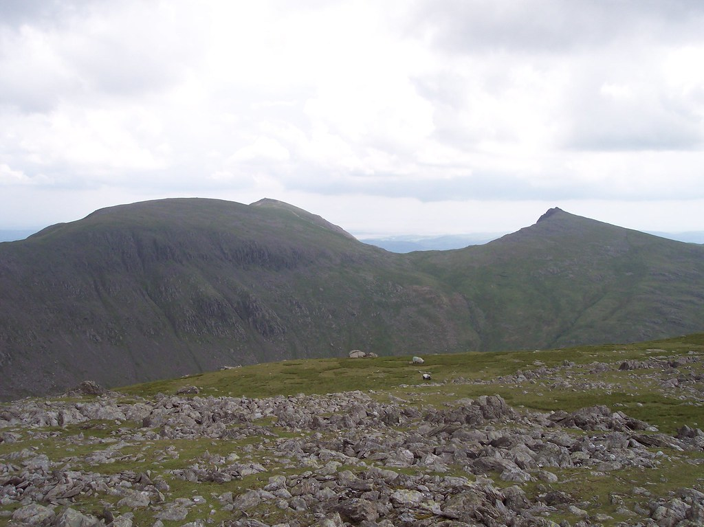 Looking towards the Old Man from Grey Friar
