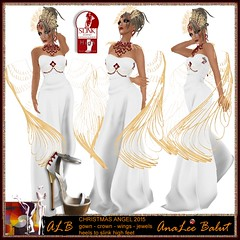 ALB CHRISTMAS ANGEL 2015 - gown - heels and more POE8 hunt 2015