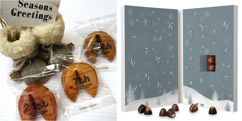 Adult Advent Calendars, 2015, Blog, Review, Not on the High Street, Personalised, Fortune Cookie, Hotel Chocolat, Couples, Sharing, Romantic, Chocolate, Truffles, For Two