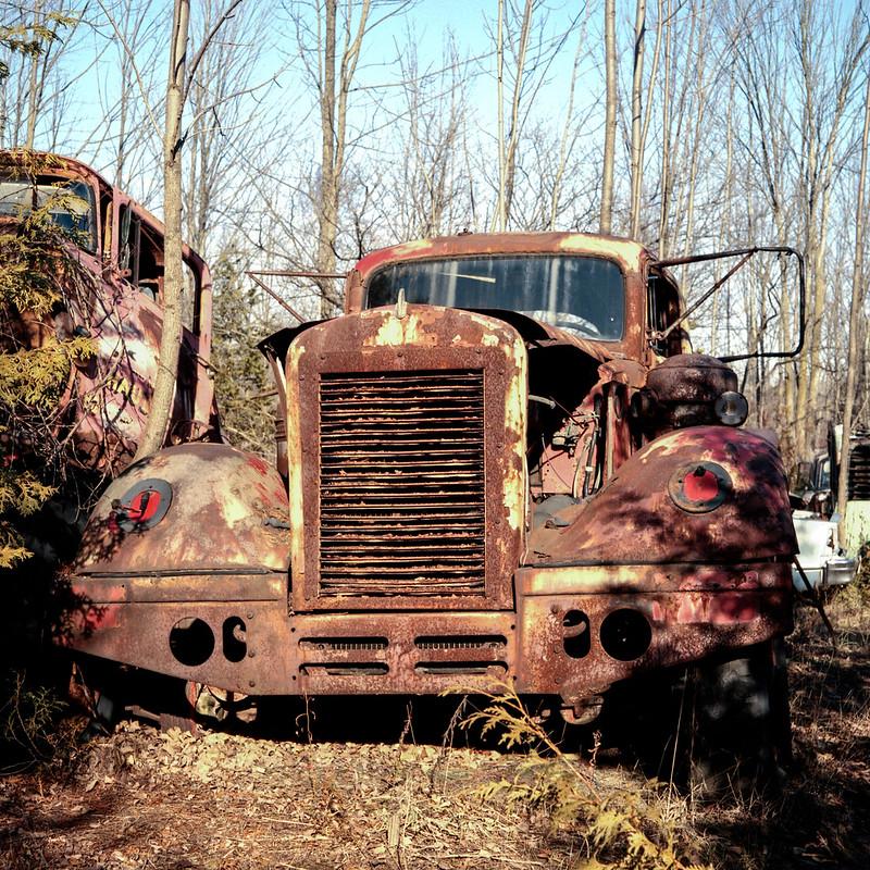 Rusty Truck Cab