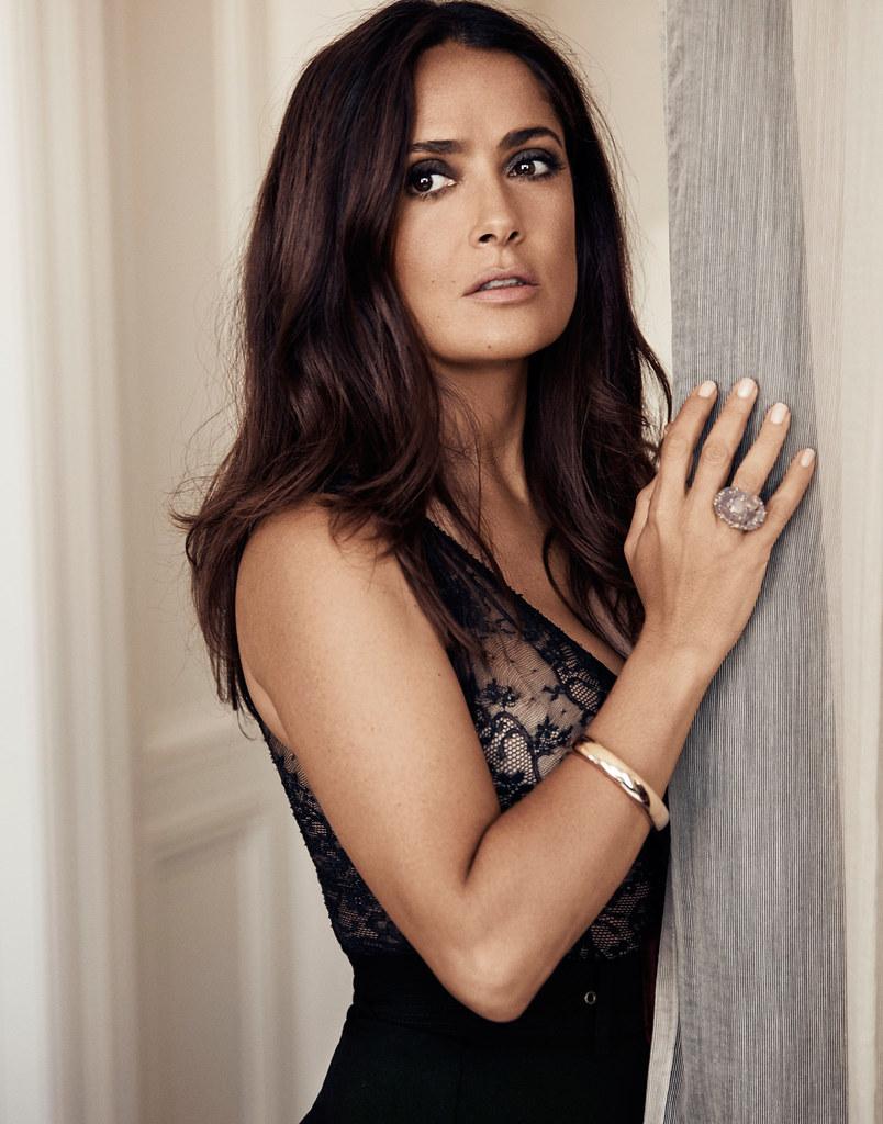 Сальма Хайек — Фотосессия для «Evening Standard» 2015 – 4