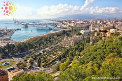 como viajar de de Granada a Málaga