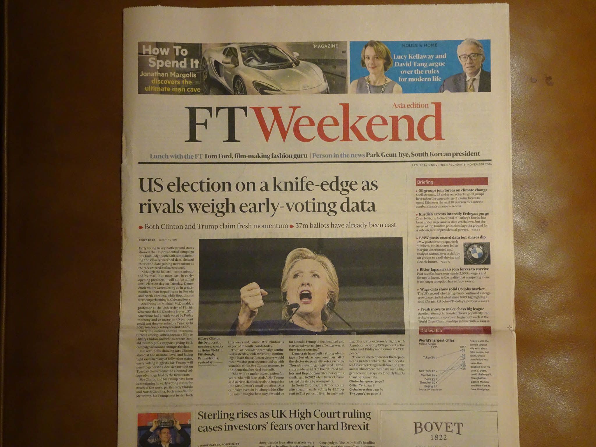 The U.S. presidential election - front page news in Hong Kong f78badf321