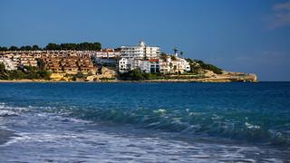 Image of Platja Altafulla. catalunya cataluña españa spain tarragona campdetarragona playa beach orilladelmar