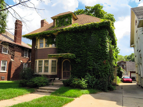Residence in Boston-Edison Historic District, Detroit, Michigan