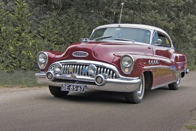 Buick Roadmaster Riviera Coupé 1953 (4178)
