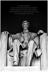 Washington.- Lincoln Memorial - Abraham Lincoln