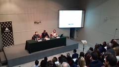 Inauguración de la jornada a cargo de Luis Cordero