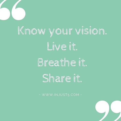 Do you know and love by your vision? #businesstips #smallbizlife #pin